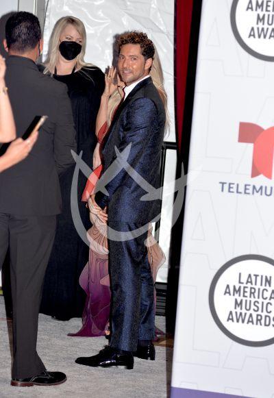 David Bisbal en los Latin AMAs 2021