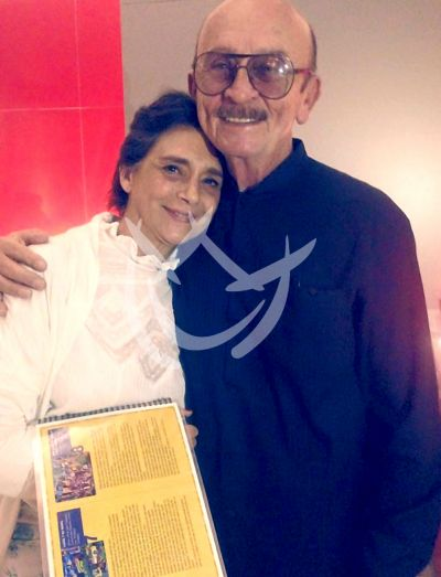 Sergio Esquivel y Ofelia Medina