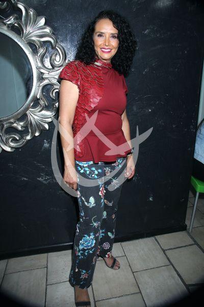 Mayra Rojas a la clínica