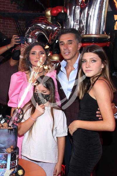 Sergio Mayer y Familia