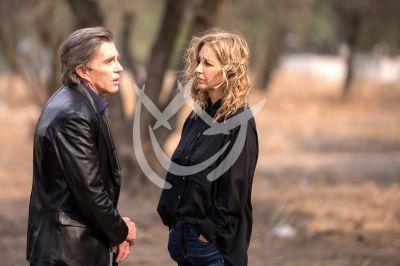 Fernando y Claudia en Fuego Ardiente