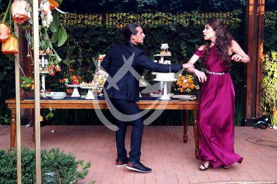 Eva y Emilio en 'Qué Le Pasa A Mi Familia'