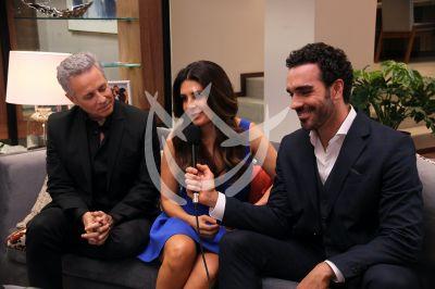 Mayrín, Alexis y Marcus en Si Nos Dejan