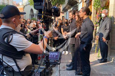 Fernando, Eva y Emilio en 'Qué Le Pasa A Mi Familia'