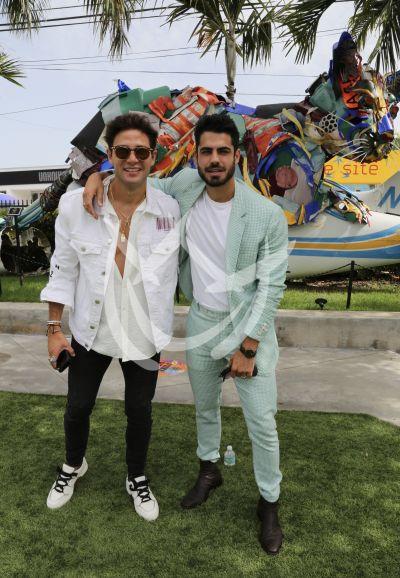 Gabriel y Roberto celebran PJ nominaciones ¡Sin máscara!