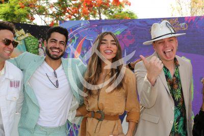 Roberto, Alejandra y Marcos celebran PJ nominaciones ¡Sin máscara!