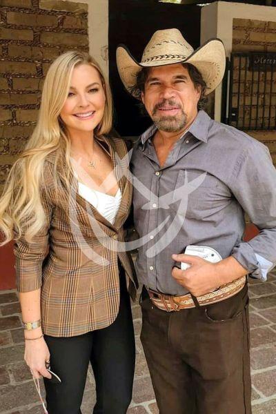 Marjorie y Alberto en La Desalmada
