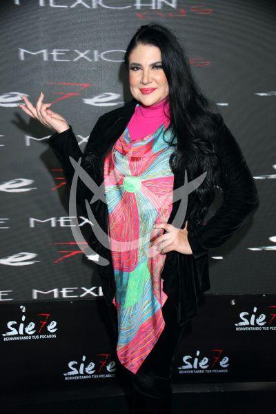 Alejandra Ávalos en Sie7e