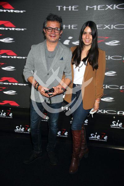 Freddy Ortega y esposa en Sie7e