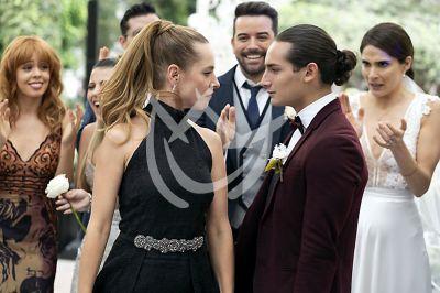 Emilio y Gaby de boda en 'QLPAMF'