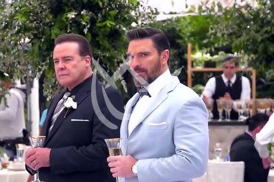 César y Julián de boda en \'QLPAMF\'