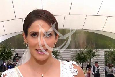 Eva Cedeño de boda en \'QLPAMF\'