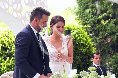 Mane y Eva de boda en 'QLPAMF'