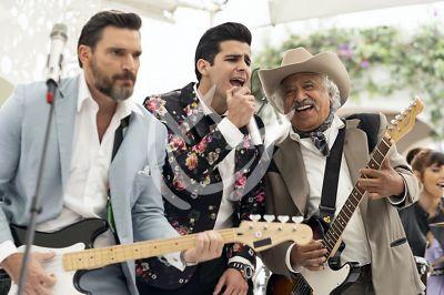 Julián, Mauricio y Rafael de boda en 'QLPAMF'
