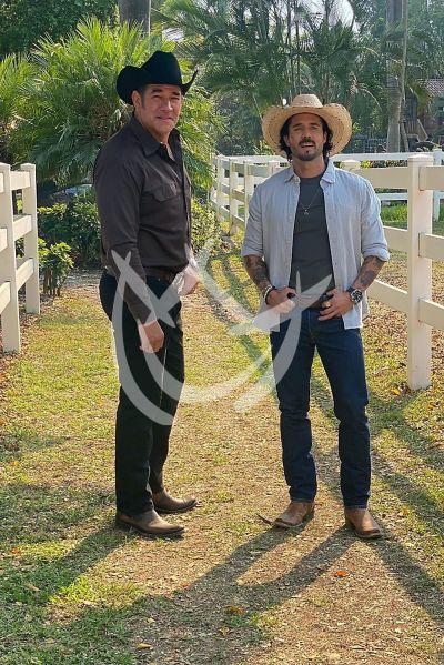 José Ron y Eduardo Santamarina en La Desalmada