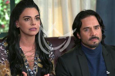 Livia y José en La Desalmada