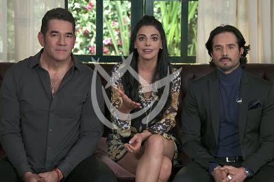 Livia, José y Eduardo en La Desalmada