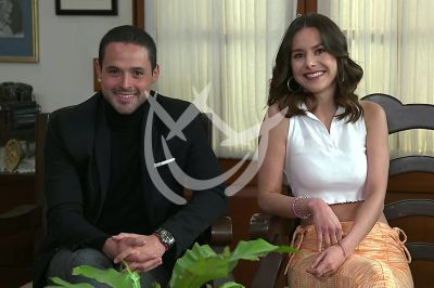 Gonzalo y Alejandra en La Desalmada