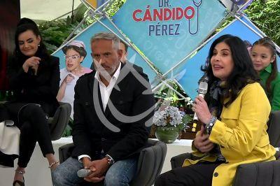 Arath, Raquel y Lorenaen Cándido Pérez