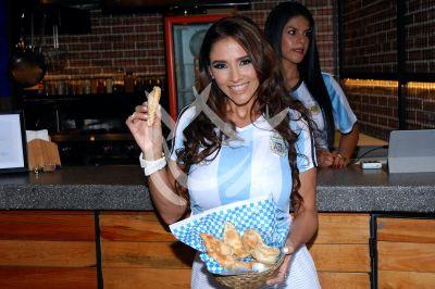 Dorismar a la empanada argentina