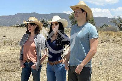 Livia, Verónica y Carlos en La Desalmada