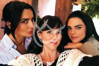 Livia, Verónica y Cecilia en La Desalmada