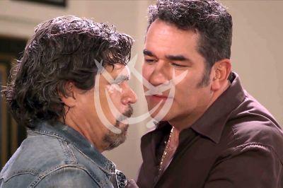 Alberto y Eduardo en La Desalmada