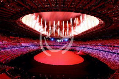 Inauguran los Juegos Olímpicos de Tokio 2020