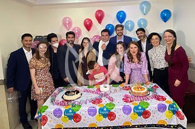 Jorge Salinas celebra cumple con SOS