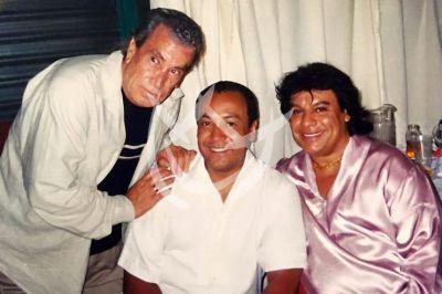 Alfonso Zayas con Juanga y Carlos Cuevas