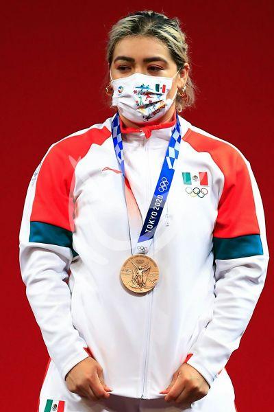 Aremi Fuentes gana el tercer bronce para México en Tokio