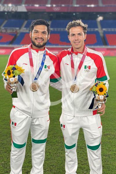 México recibe el bronce en el futbol de Tokio