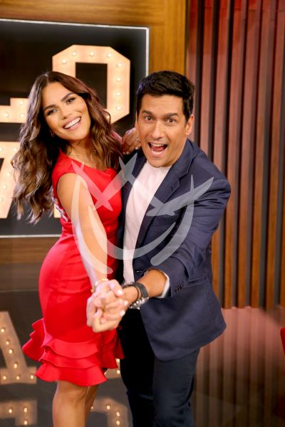 Karina Banda y Rafael Araneda quieren ser tu cupido