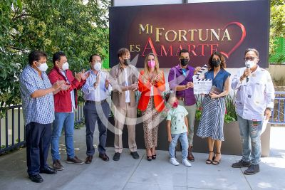 Mi Fortuna Es Amarte, elenco