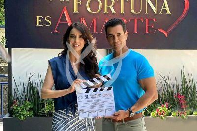 David y Susana en Mi Fortuna Es Amarte