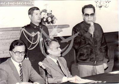 Cantinflas y Miguel de la Madrid