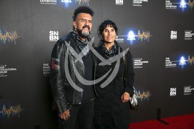 Sergio Arau y Yareli Arizmendi