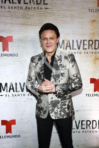 Pedro Fernández con el patrón