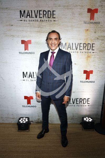 Luis Felipe Tovar con el patrón