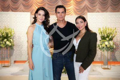 David, Susana y Adriana en Mi Fortuna Es Amarte