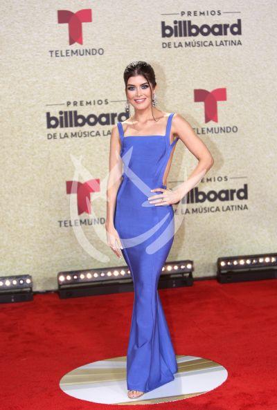 Gaby Cataño en Latin Billboards