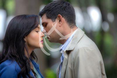 Angelique y Ferdinando ¡beso! en Vencer El Pasado