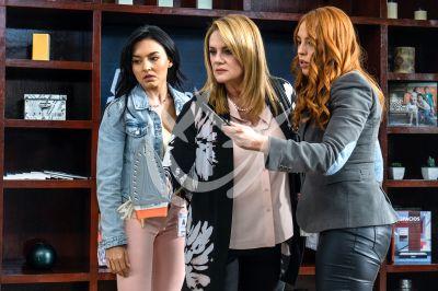 Angelique, Erika y Arantza en Vencer El Pasado