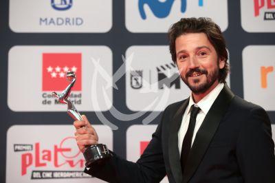 Diego Luna y más ganadores del Premio Platino