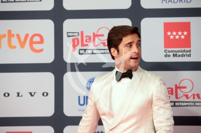 Diego Boneta en Premios Platino