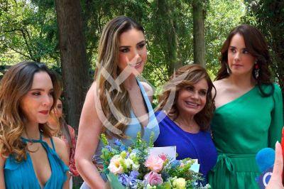 Gala, Ana Belena, Ana Lorena y María en Diseñando Tu Amor
