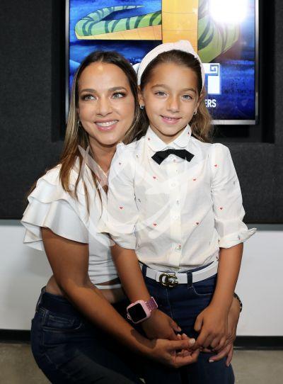 Adamari López e hija Alaia