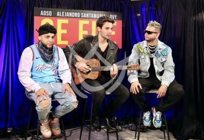 Alejandro Santamaría con Adso Alejandro y Ovy On the Drums