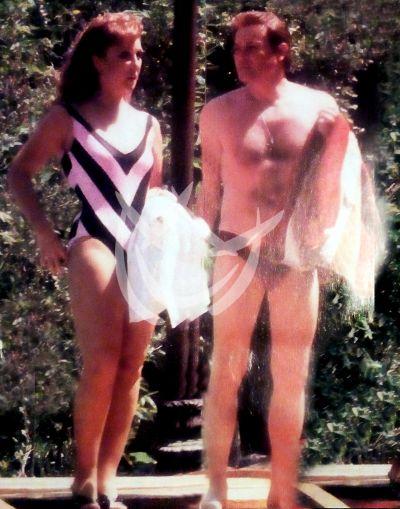 Angélica María y MIguel Palmer, 1987