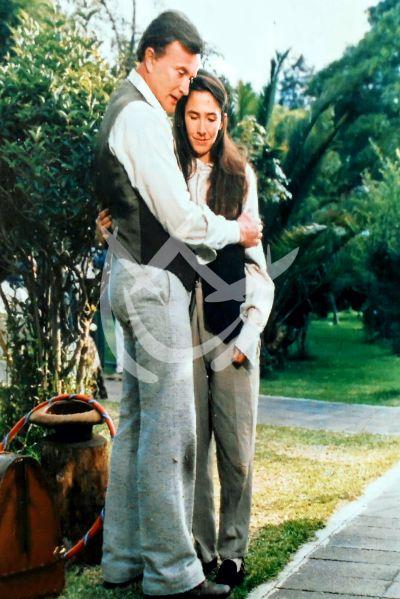Miguel Palmer y Florinda Meza, 1991